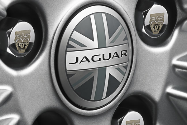Jaguar E-Pace Union Jack Centre Caps